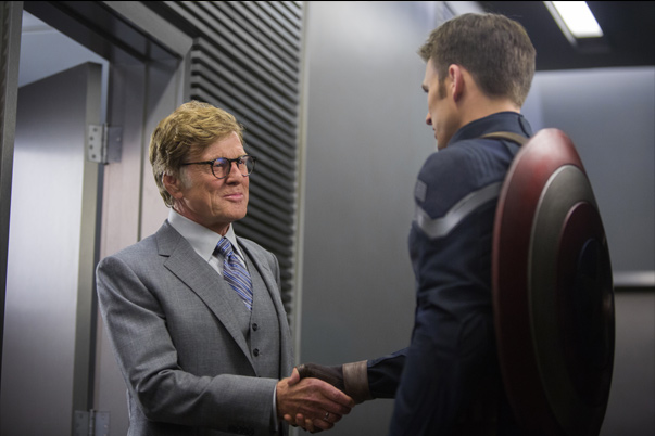 Robert Redford e Chris Evans